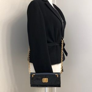 Juicy Couture  Patent Leather Shoulder Bag